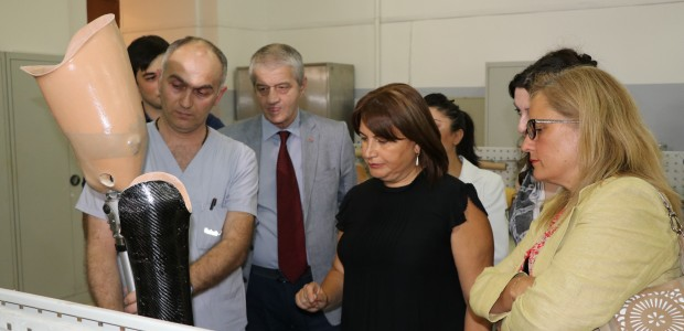 TİKA Provides Prosthetic Machinery to People with Disabilities in Georgia  - 1