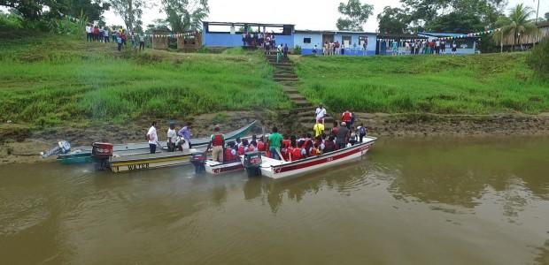 TİKA Provides Boats to Colombian Students  - 2
