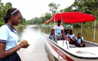 TİKA Provides Boats to Colombian Students