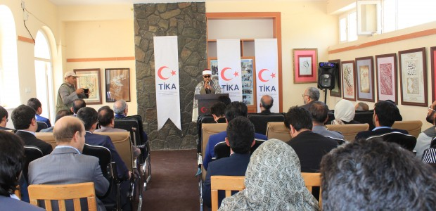 """""""The Story of Turkey Afghanistan Friendship through Historical Documents"""" Exhibition by TİKA  - 3"""