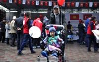TİKA Provides Wheelchair Support to Kyrgyzstan