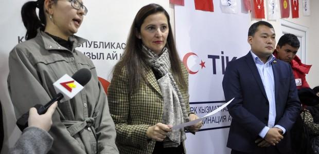TİKA Provides Wheelchair Support to Kyrgyzstan  - 2