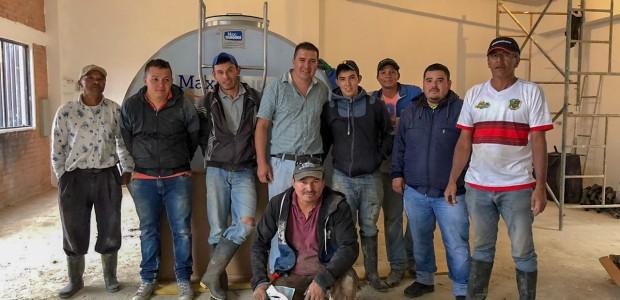 TİKA Offers Bulk Tank Support to Colombian Farmers  - 7