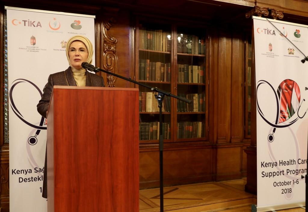 Emine Erdoğan Attended the TİKA Program in Hungary - TİKA 5a3fd4ec16