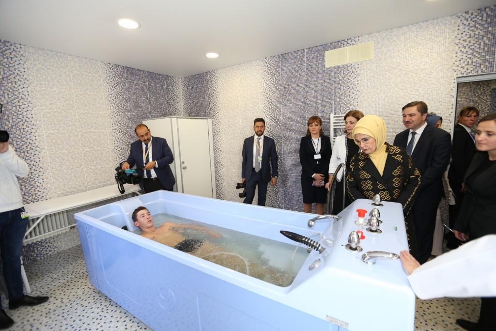 First Lady Emine Erdoğan Visited TİKA Projects in Moldova - TİKA