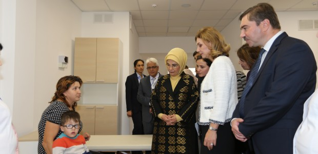 First Lady Emine Erdoğan Visited TİKA Projects in Moldova - 4