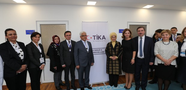 First Lady Emine Erdoğan Visited TİKA Projects in Moldova - 6