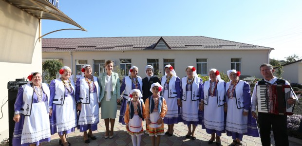 First Lady Emine Erdoğan Visited TİKA Projects in Moldova - 7
