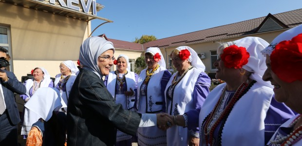 First Lady Emine Erdoğan Visited TİKA Projects in Moldova - 8
