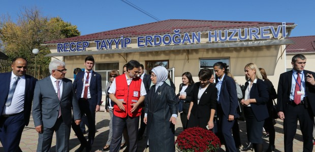 First Lady Emine Erdoğan Visited TİKA Projects in Moldova - 10