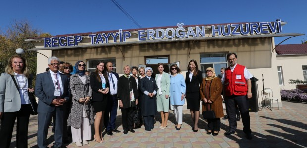 First Lady Emine Erdoğan Visited TİKA Projects in Moldova - 12