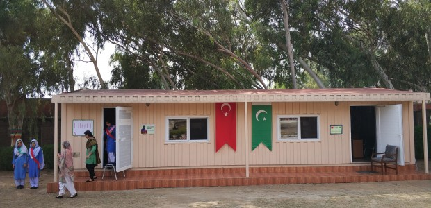 TİKA Opens a Library and a Playground at a Girls' School in Pakistan  - 2