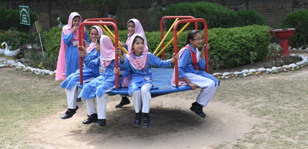 TİKA Opens a Library and a Playground at a Girls' School in Pakistan  - 3