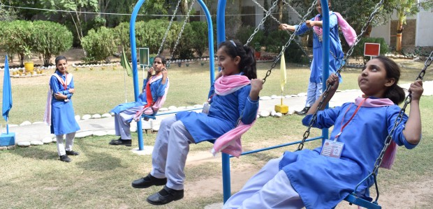 TİKA Opens a Library and a Playground at a Girls' School in Pakistan  - 4