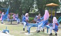 TİKA Opens a Library and a Playground at a Girls' School in Pakistan  - 7
