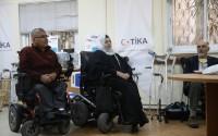 """""""تيكا"""" التركية تقف بجانب ذوي الاحتياجات الخاصة في القدس الشريف"""