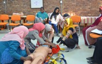 Local trainers begin organizing training sessions in Sudan as part of ATKAP