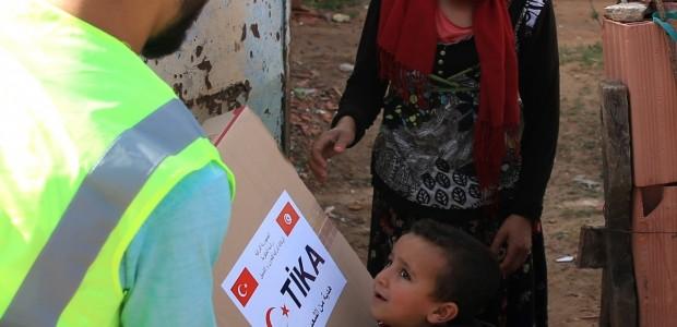 TİKA'dan Tunus'taki Sel Mağdurlarına Yardım  - 3
