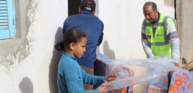 TİKA'dan Tunus'taki Sel Mağdurlarına Yardım  - 4