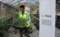 TİKA Opens Sapling Production Facility in Palestine