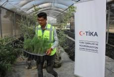 TİKA Opens Sapling Production Facility in Palestine