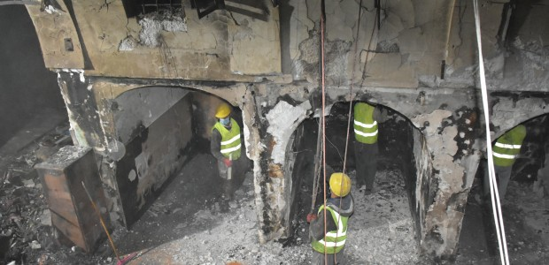 TİKA Takes Action for Burned Historical Kayseri Bazaar in Kirkuk - 3