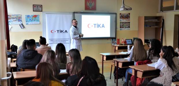 TİKA, Karadağ'da Eğitim Altyapılarını Desteklemeye Devam Ediyor - 1