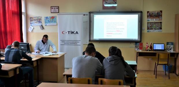 TİKA, Karadağ'da Eğitim Altyapılarını Desteklemeye Devam Ediyor - 2