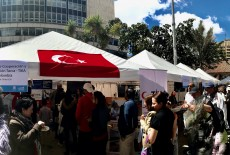 TİKA Promotes Turkey in the International Migrants Festival in Colombia