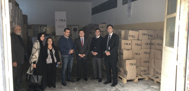 TİKA Provides Food Aid for 700 Displaced Libyan Families - 2