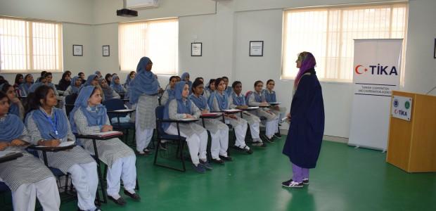 """""""تيكا"""" التركية تفتتح قاعة الدراسات التقنية في مدرسة باكستانية - 3"""