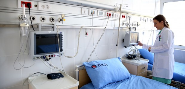 Hospital Renewed by TİKA Gives Hope to Mothers of Sancak Region - 4