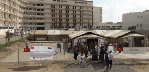 Yemen'deki Sahra Hastanesi 1 Milyon Kişiye Umut Oldu - 1