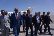 Başbakan Yardımcısı Hakan Çavuşoğlu'nun Somali Ziyareti (22 Şubat 2018)