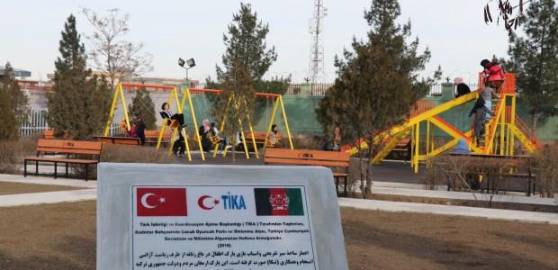Afganistan'da Kadınlar Bahçesi için Çocuk Oyun Parkı ve Dinlenme Alanı  - 5