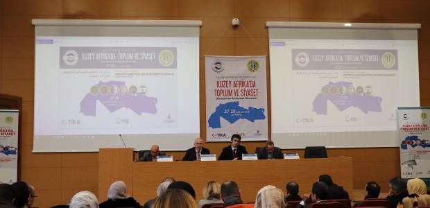 """تيكا التركية تقيم ندوة تحت عنوان """"المجتمع والسياسة في شمال افريقيا"""" - 1"""