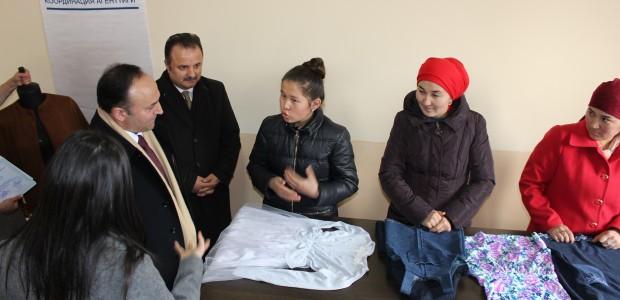 TİKA'dan Kırgızistan'da Kadın İstihdamına Destek  - 2