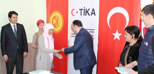 TİKA'dan Kırgızistan'da Kadın İstihdamına Destek  - 3