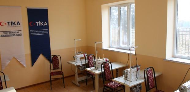 TİKA'dan Kırgızistan'da Kadın İstihdamına Destek  - 5