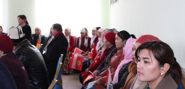 TİKA'dan Kırgızistan'da Kadın İstihdamına Destek  - 4