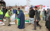 TİKA'dan Afganistan'da Bin Aileye Acil Gıda  Yardımı