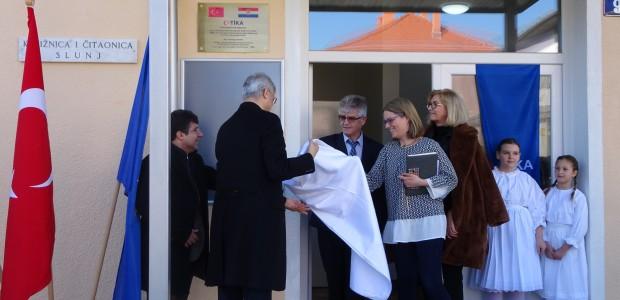 """""""تيكا"""" التركية ترمم مركزا تعليما شعبيا في كرواتيا - 2"""