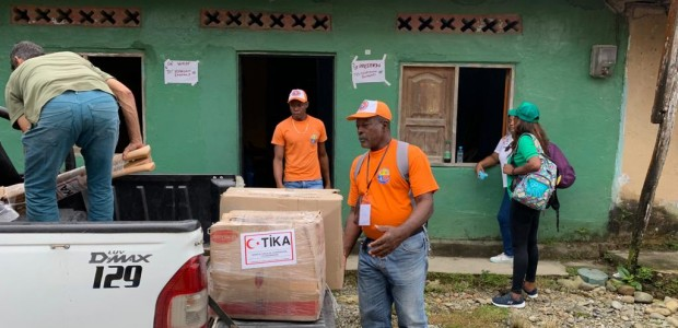 TİKA Extended Helping Hand Flood-affected Colombian People - 4