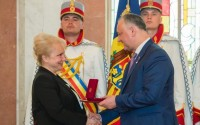 Moldova Cumhurbaşkanı Igor Dodon'dan TİKA'ya Onur Nişanı