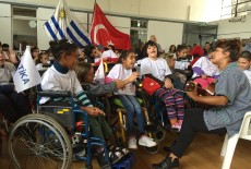 TİKA'dan Uruguay'da Engellilere Destek