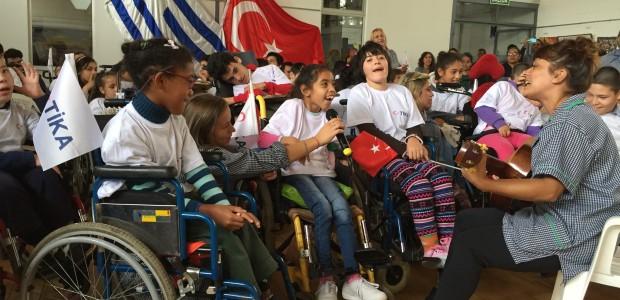 TİKA'dan Uruguay'da Engellilere Destek - 1