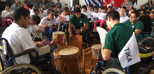 TİKA'dan Uruguay'da Engellilere Destek - 2