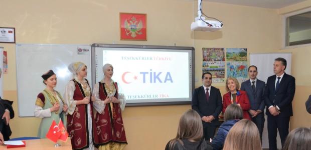 TİKA'dan Karadağ'da Eğitime Destek - 3