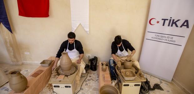 TİKA'dan Tunus'ta Geleneksel El Sanatlarına Destek - 2