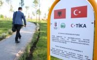 Arnavutluk Tiran'da 15 Temmuz Demokrasi Parkı